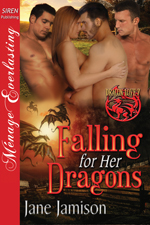 Falling for Her Dragons  -- Jane Jamison
